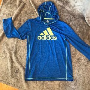 Adidas hoodie. YL 14/16.